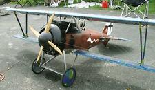 Large Scale SIEMENS SCHUCKERT D-III scratch build r/c Plane Plans 77 in wingspan