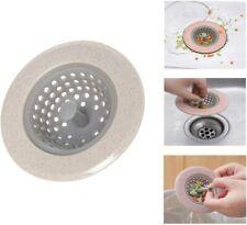 Kitchen Drain Hair Catcher Bath Waste Plug Stopper Sink Bathroom Protector Silic