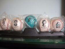 Florida Marlins 1993  Baseball Stars Set of 5 Seffield  & More with stand MLB