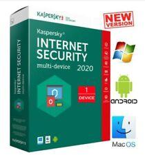 KASPERSKY INTERNET SECURITY 2020 / 1 DEVICE / 1 YEAR  (GLOBAL)