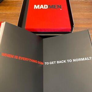 MAD MEN TV Press Kit Season 5+Letter from Matthew Weiner• FREE FedEx •no episode