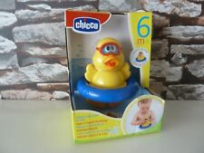 NUOVI/SIGILLATI: Chicco SPIN e Squirt ANATROCCOLO Bagno Baby Giocattolo (6+ mesi) il bagno