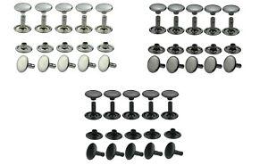Hohlnieten, Doppelkopf, Rostfrei, Messing, in, 6mm, 7mm, 9mm, 10mm, 13mm