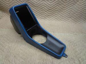 74-89 Porsche 911 Blue Center Console 75 76 77 78 79 80 81 82 83 84 85 86 87 88