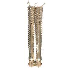 Sexy Womens Thigh High Boots Open Toe Stilettos High Heels Lady Nightclub Shoes