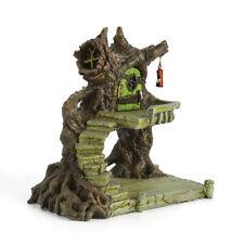 Fairy House For Fairy Garden: Frogger's Ferry Swamp Shack Fiddlehead Fairy Home