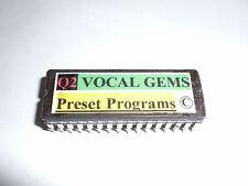 ALESIS Quadraverb 2 'VOCAL GEMS' 100 PRESETS EPROM CHIP - Copyrighted.
