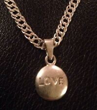 Sterling Silver Love Charm C13