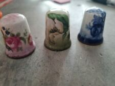 More details for staffordshire mayfayre thimbles (3)