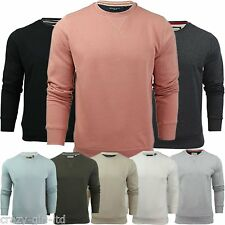 Mens Brave Soul Round Neck Overhead Pullover Jumper Sweatshirt Long Sleeve Shirt
