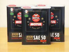 7,70€/l Motul Classic Motor Oil SAE 50  3 x 2 ltr  Oldtimer Motoröl