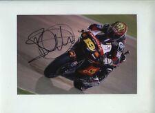 Alvaro Bautista SAN CARLO HONDA GRESINI MOTO GP QUATAR 2012 firmato Fotografia