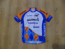Pearl Izumi Garmin UCI Pro Tour Men Cycling Bicycling Jersey Shirt Maglia Size L
