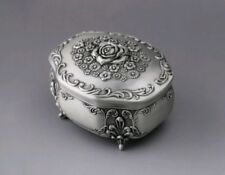 High Quality Rose Pattern Music Box : ♫ Fly Me To The Moon ♫