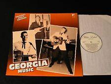 Georgia Music-Dutch Rare Rockabilly Comp LP on White Label-NEAR MINT!