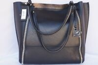New Botkier Soho Big Zip Tote Black Bag Shoulder Handbag