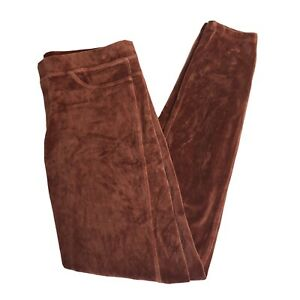 HUE Women's Tracksuit Bottoms Trousers Joggers Leggings Brown Size: small