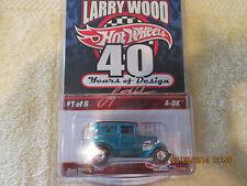 2009 Hot Wheels RLC LARRY WOODS  A-OK #1 OF 6  4619/7500