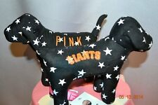 RARE Victorias Secret Pink MLB San Francisco Giants  Mini Dog NWT