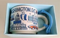 STARBUCKS BTS Washington DC Been There Series Demitasse size Coffee Mug Ornament