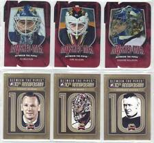 GEORGES VEZINA MONTREAL CANADIENS 11-12 ITG BETWEEN THE PIPES 10th ANN #BTPA-35