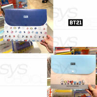 BTS BT21 Official Authentic Goods Document File 5Folder 325x245mm 2TYPE + Track#