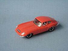 Matchbox Jaguar E Type Coupe Orange Body British Sports Car Toy Model UB 70mm
