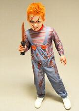 Childrens Size Halloween Evil Doll Costume