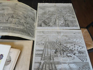 KIP - Britannia Illustrata. Or Views of the Queen's Palaces. Joannes Kip, 1709