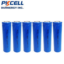 12 x 18650 Vape Rechargeable Li-ion Battery 2200mAh 3.7V Unprotected Flat Top
