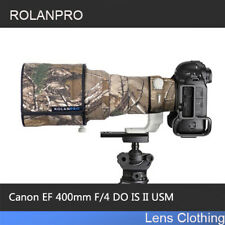 ROLANPRO Lens Camouflage Clothing Rain Cover for Canon EF 400mm f/4 DO IS II USM