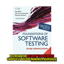 FAST SHIP: FOUNDATIONS OF SOFTWARE TESTING ISTQB CERTI 3E by GRAHAM/ BL