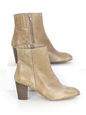 BNWT Russell & Bromley Womens Sand Ipanema High Heel Boots  40 (UK 7)