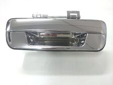 HOLDEN RODEO RA TAILGATE TAIL GATE HANDLE WITHOUT KEY HOLE  3/2003-6/2008 CHROME