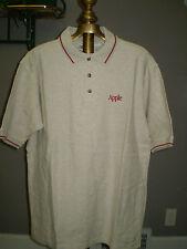 Apple Logoed Short Sleeve Polo Shirt - Large