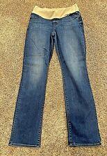 **VERY NICE** Ann Taylor LOFT LADIES Maternity Full Length Jeans----Size 8M