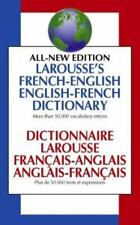 Larousse's French-English, English-French Dictionary: Dictionnaire Larousse Fran