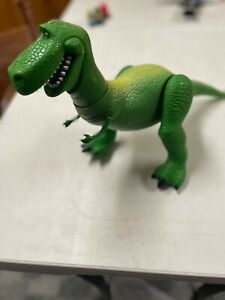 DISNEY TOY STORY MOVIE THINKWAY BIG REX DINOSAUR ACTION FIGURE  11 INCHES TALL