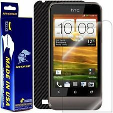 ArmorSuit MilitaryShield HTC One V Screen Protector + Black Carbon Fiber Skin