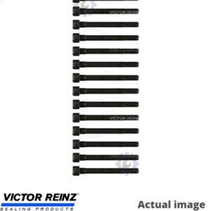 NEW CYLINDER HEAD BOLT KIT FOR NISSAN PATROL GR V WAGON Y61 RD28TI VICTOR REINZ