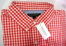 BNWT BANANA REPUBLIC Mens Long Sleeve Polo. Size L