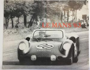 Rover Le Mans '63 gas Turbine Brocure