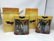 Batman Begins Wizard World Exclusive Masked & Unmasked 2005 Mattel Mib