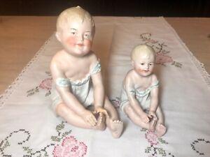 Bebe figurine vintage babies mini nude no 32 bedtime girl mirror