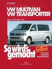 So wird's gemacht: VW Multivan / VW Transporter von 5/03 bis 6/15 von Hans Rudiger Etzold (2005, Taschenbuch)