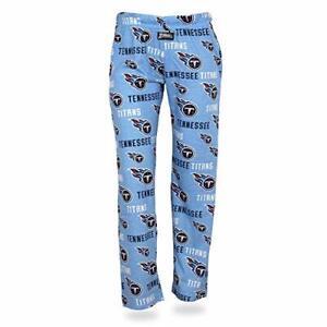 Zubaz NFL Women's Tennessee Titans Comfy Lounge Pants, Blue