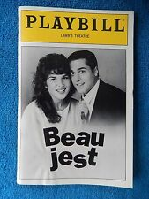 Beau Jest - Lambs Theatre Playbill w/Ticket - December 7th, 1991 - Tom Hewitt