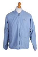Vintage Adidas Three Stripes Tracksuit Top Casual UNISEX UK M Turquoise - SW1992