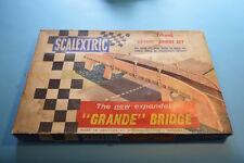 Conjunto De Puente Scalextric Grande, en gran condición, Raro