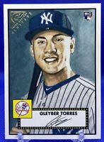 2018 Topps Gallery Heritage #H-34 Gleyber Torres Rookie RC NY Yankees PSA❓🔥📈